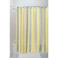 amazon com interdesign moxi fabric shower curtain yellow and