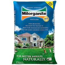 Milorganite 36 lb Organic Nitrogen Fertilizer The
