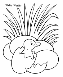 Duck Coloring Pages 10