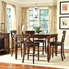 Rustic Counter Height Dining Table Sets Set With Butterfly Leaf Home Traditional