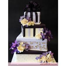 Purple Gift Box Wedding Cake  Pink Cake Box Wedding Cakes more