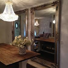 barock spiegel bernini silber