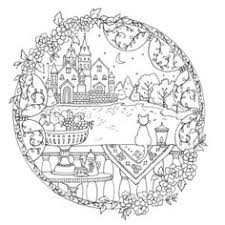Romantic Country A Fantasy Coloring Book By Eriy