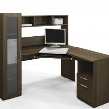 Mainstays L Shaped Desk With Hutch by Furniture Mainstays L Shaped Desk With Hutch In Black Wood For