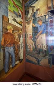 Coit Tower Mural City Life by Fresco Murals Inside Coit Tower Showing A Scene Of City Life San