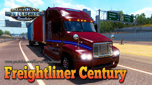 Freightliner Century Mod For American Truck Simulator, ATS