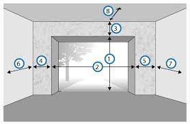 porte sectionnelle sur mesure mesure porte de garage obasinc