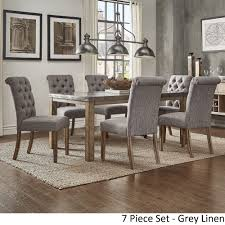 Shop Cassidy Stainless Steel Top Rectangle Dining Table Set By INSPIRE Q Artisan