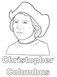 Christopher Columbus Coloring Pages And Printables