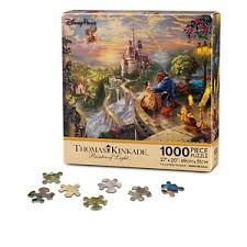 Your WDW Store Disney Puzzle Thomas Kinkade Beauty and The