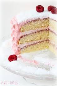 sweet diaries himbeer buttercreme torte in muschel optik