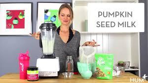 Pumpkin Seeds Testosterone by How To Make Pumpkin Seed Milk Youtube