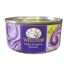wellness cat food wellness turkey and salmon canned cat food 5 5 oz each cat food