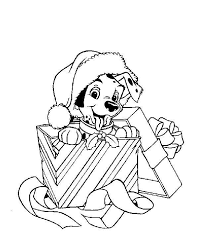 Disney Christmas Coloring Pages 6