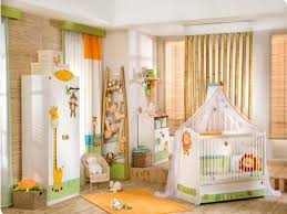 organisation chambre bébé décoration chambre enfant sur les thèmes de safari et jungle