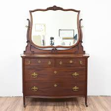 John Widdicomb Dresser Mirror by This Gorgeous Antique Dresser Is Made Of Mahogany Wood The