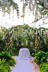 Outdoor Terrace Wedding Ceremony