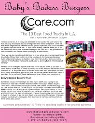 Baby Love (In The Media) - Baby's Badass Burgers - Los Angeles - 877 ... Judgmental Maps San Fernando Valley Ca By Kerry J Copr 2016 Arts District Dtla Rising With Brigham Yen A Woman Orders From A Food Truck In Dtown Los Angeles California Eatdrinktc Traverse City Food Trucks Facility Maps Cvention Center La Phil 100 Celebrate Free Festival Concert 930 Best Trucks Los Angeles Archives Truck Maple Avenue Garment District Not New Idea Talk Searching For Los Angeles October 16 2017 Boba Stock Photo Edit Now 736174771 Hire The Best Catering For Your Next Film Flashfunders Prince Of Venice