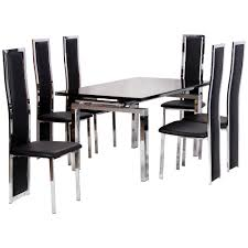 100 6 Oak Dining Table With Chairs Kitchen And For Sale Glass Set Extending