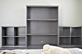 Painted Pottery Barn Bookshelves Holman Shelf Pottery Barn Au Who How To Hang A The Classic For Kids Entryway Bench And Storage Family Room Wall Collage Above The Couch Shelves From Freedom 52 Off Armoire With Glamorous Storage Shelf Shelving Units For Narrow Wall Bookshelf Exceptional Mounted Home Design Ladder Decators Services Made Love And Oats Knock Off Wooden Remodelaholic Turn An Ikea Into Ledge