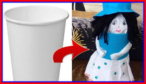 Craft Ideas Best Art N Astonishing From Waste Paper Cups Out Of
