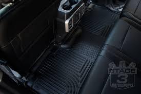 Husky Liner Weatherbeater Floor Mats by 2017 2018 F250 U0026 F350 Husky Liners Weatherbeater 2nd Seat Floor