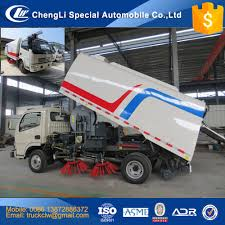 100 Used Sweeper Trucks For Sale 315cbm Road Truck 4x2 Vacuum Suction Broom Sweeping Truck