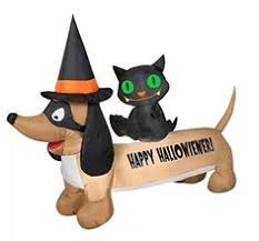 Walmart Canada Halloween Inflatables by Penguin Happy Holiday U0027s Present Archway Christmas Airblown