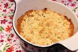 dessert a base de compote de pommes crumble à la compote de pommes pour ceux qui aiment cuisiner