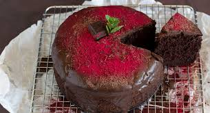 rote bete kuchen mit viel schokolade we go