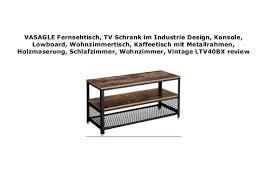 vasagle fernsehtisch tv schrank im industrie design