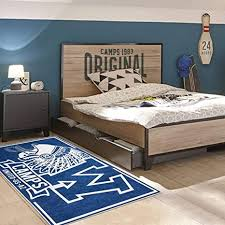 cs teppich kinderzimmer indian blau teppich für kinder