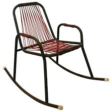 Black Rocking Chair