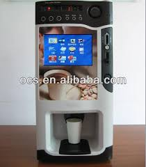 2018 Commercial Coffee Vending Machine With Screen