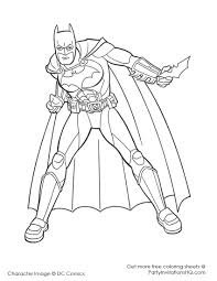 Exciting Batman Color Page 10 Awesome Coloring Pages Within Pictures Of Colouring