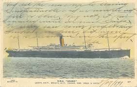 the sinking of the lusitania at 100 passenger ships in world war