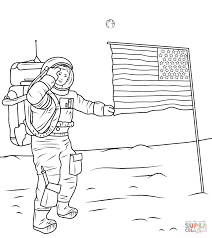 Click The Neil Armstrong On Moon