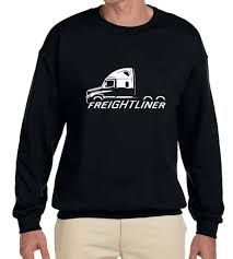 Freightliner Cascadia Semi Truck Classic Outline Design Sweatshirt ... Banned Food Truck Cockasian Up For Grabs On Ebay Eater Matchbox Flag Semi Custom Made Knight Rider Online C10 Chev 4x4 Custom Lifted Monster Show Bangshiftcom Mack Ford F350 Dually Hot Rod Sema 24 Alcoa 164 Australian Kenworth Freight Road Train With Dolly Terraking Hs208 28575r245 16 Ply Premium Drive Rear Semi Unique Small Trucks On Ebay 7th And Pattison You Can Buy This Jeep Renegade Comanche Pickup Right Now Used Peterbilt Dump For Sale As Well Caterpillar 2010 Intertional Prostar 865000 Miles Red Fro16210c