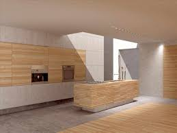 carbonized bamboo flooring in kitchen and bathroom plank cherry