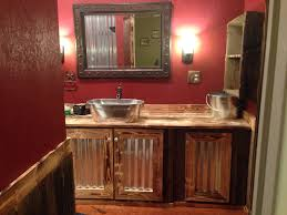 Part 2 Of Our Rustic Bathroom. The Bottom Half Is Old Barn Wood ... Why Yes Those Are Seats From The Old Red Barn Olympia Stadium 99 Best Decor Fniture Thats Fab Images On Pinterest Door Ding Table M Jones Creations Wood Ideas Crustpizza Nightstand In Mms Milk Paint Artissimo Shutter Gray Nice Score Of Local Robin Egg Painted Siding And Mooove Over For A Smokin Hot Night Stand Make Fniture Trellischicago Bar Stools Wrought Iron Vintage Industrial Unique Custom Made Rustic Bed With Live Edge And Beams Slab Find Out