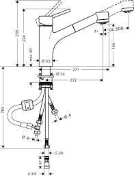 hansgrohe niederdruck einhebelmischer talis s mit brause 32842000
