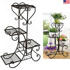 Patio Plant Stands Wheels by Plant Stands Ebay