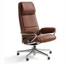 stressless high back office chair