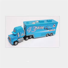 King Pixar Cars 43 HAULER DINOCO Mack Super Liner Truck Diecast Toy ... Disney Pixar Cars Mack Truck Carrier Hauler 18 Storage Carrying Mack Truck In Trouble With Train Cars For Kids Disneypixar Playset Walmartcom 3 Big 24 Diecasts Tomica Lightning Mcqueen Tomica Rescuego Takara Tomy Disneypixcars Amazoncom Large Scale Toys Blackgold Scale Memorial Cecil Spurlocks Son And Familys Trailer Jada Diecast 124 Cstruction Videos For Mcqueen Garage