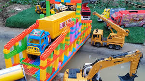 Toy Cars Video For Children | Construction Trucks Toys And Bridge ... New Video By Fun Kids Academy On Youtube Cstruction Trucks For Old Abandoned Cstruction Trucks In Amazon Jungle Stock Photo Big Heavy Roller Truck Flatten Soil A New Road Truck Video Excavator Nursery Rhymes Toys Vtech Drop Go Dump Walmartcom Dramis Western Star Haul Dramis News Photos Of Group With 73 Items Tunes 1 Full Video 36 Mins Of Videos Kids Bridge Bulldozer Cat 5130b Loading 4k Awesomeearthmovers Types Toddlers Children 100 Things Aftermarket Parts Equipment World