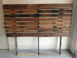 He Carted These Old Pallets In His Truck To His Bedroom And Made