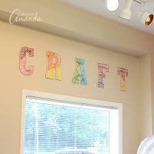 String Art Wall Letters