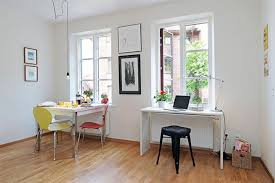 White Narrow Ideas You See Here It Small Apartment Dining Room Would Work Equally Well As