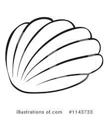 Royalty Free RF Seashell Clipart Illustration by Graphics RF