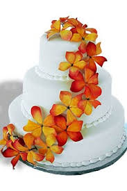 Hawaiian Themed Wedding Cakes